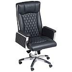 Kancelářská židle Ferraghini, kožená