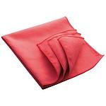 ANDRA Čistící hadřík, 32 x 32 cm, červený