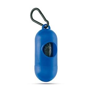 MARLEY Zásobník s 10 PE sáčky, modrá