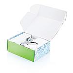 Spořič spotřeby vody do sprchy v zelené krabici