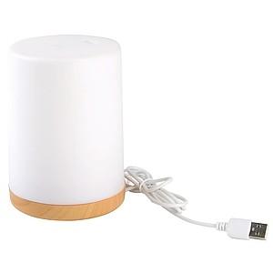 NAGES Zvlhčovač vzduchu s osvětlením, bílá