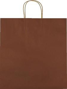 Velká recyklovaná papírová taška,hnědá