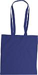MICHALA Nákupní taška, dlouhé rukojeti, tm.modrá papírová taška s potiskem