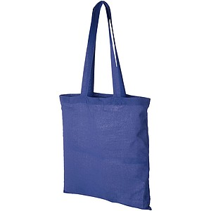 TOMAN Bavlněná nákupní taška Centrix, královská modrá
