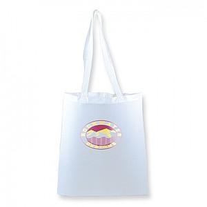 Bavlněná nákupní taška, bílá