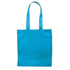 Bavlněná nákupní taška, tyrkysová