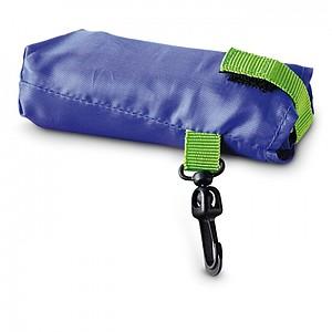 Skládací nákupní taška v pouzdře, modrá
