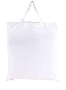 bavlněná taška, bílá