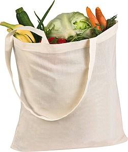 DILON Bavlněná nákupní taška s dlouhými uchy