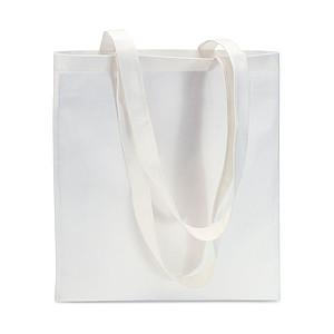 Nákupní taška z netkané textilie 80 gr/m2, bílá