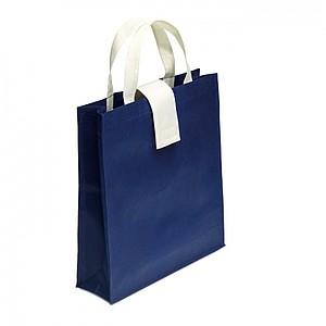 SORETO Skládací netkaná nákupní taška, modrá