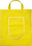 KOMPO Skládací nákupní taška, žlutá