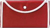 KOMPO Skládací nákupní taška, červená