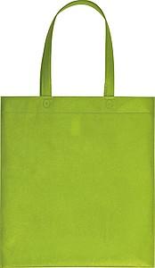 Nákupní taška z netkané textilie, sv. zelená
