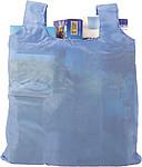 JASMÍNA Skládací nákupní taška s klipem, sv.modrá
