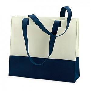 Nákupní nebo plážová taška, modrá