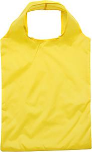 LEGUMI Skládací nákupní taška, složitelná do banánu papírová taška s potiskem