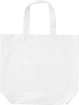 Nákupní taška z netkané textílie, bílá