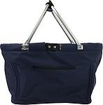 JANAH Skládací nákupní košík, 600d polyester, modrý