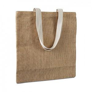 JUTA Jutová nákupní taška, béžová