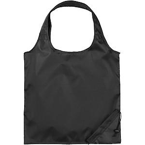 Skládací nákupní taška, černá