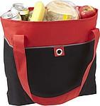 Nákupní taška s dlouhými uchy, červená
