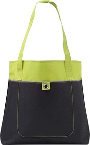 Nákupní taška s dlouhými uchy, zelená