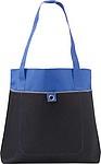 Nákupní taška s dlouhými uchy, modrá