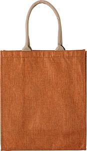 Polyesterová nákupní taška, oranžová