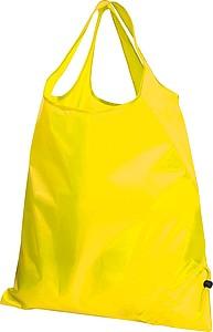 Skládací nákupní taška, žlutá