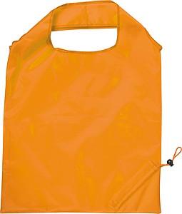 Skládací nákupní taška, oranžová