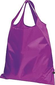 Skládací nákupní taška, fialová,fialová