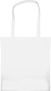 Velká nákupní taška z netkané textilie, bílá