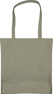 Velká nákupní taška z netkané textilie, šedá