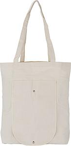 Skládací bavlněná nákupní taška