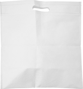 Malá nákupní taška z netkané textilie, bílá