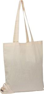 Bavlněná nákupní taška složitelná do kapsičky