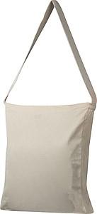 Velká nákupní taška z bavlny s rozšířeným dnem