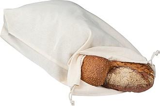 Bavlněná taška na pečivo se šňůrkou na stažení