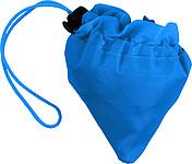 BAHAMY Skládací nákupní taška z polyesteru, modrá papírová taška s potiskem
