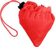 BAHAMY Skládací nákupní taška z polyesteru, červená
