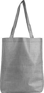 Nákupní taška z netkané textílie, šedá