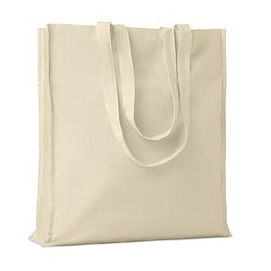 Bavlněná nákupní taška s dlouhými uchy