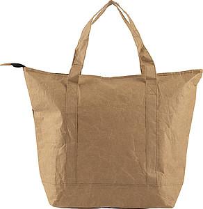Menší nákupní taška z laminovaného papíru s hliníkovou vložkou