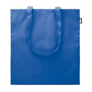 REYNA Ekologická nákupní taška s dlouhými uchy, z recyklovaných PET lahví, král. modrá