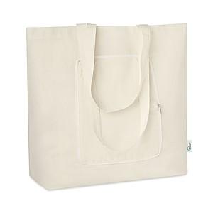 Skládací nákupní taška z bavlny a RPET