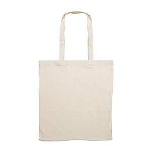 Nákupní taška z bavlny, přírodní béžová