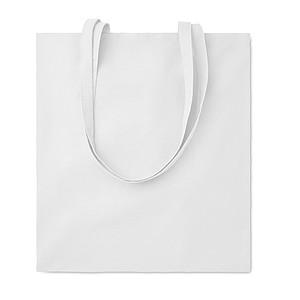 Nákupní taška z bavlny, bílá
