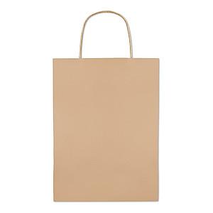 Papírová taška 22x11x30cm, béžová