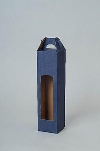 CADDY Kartonový obal na 1 láhev, modrá